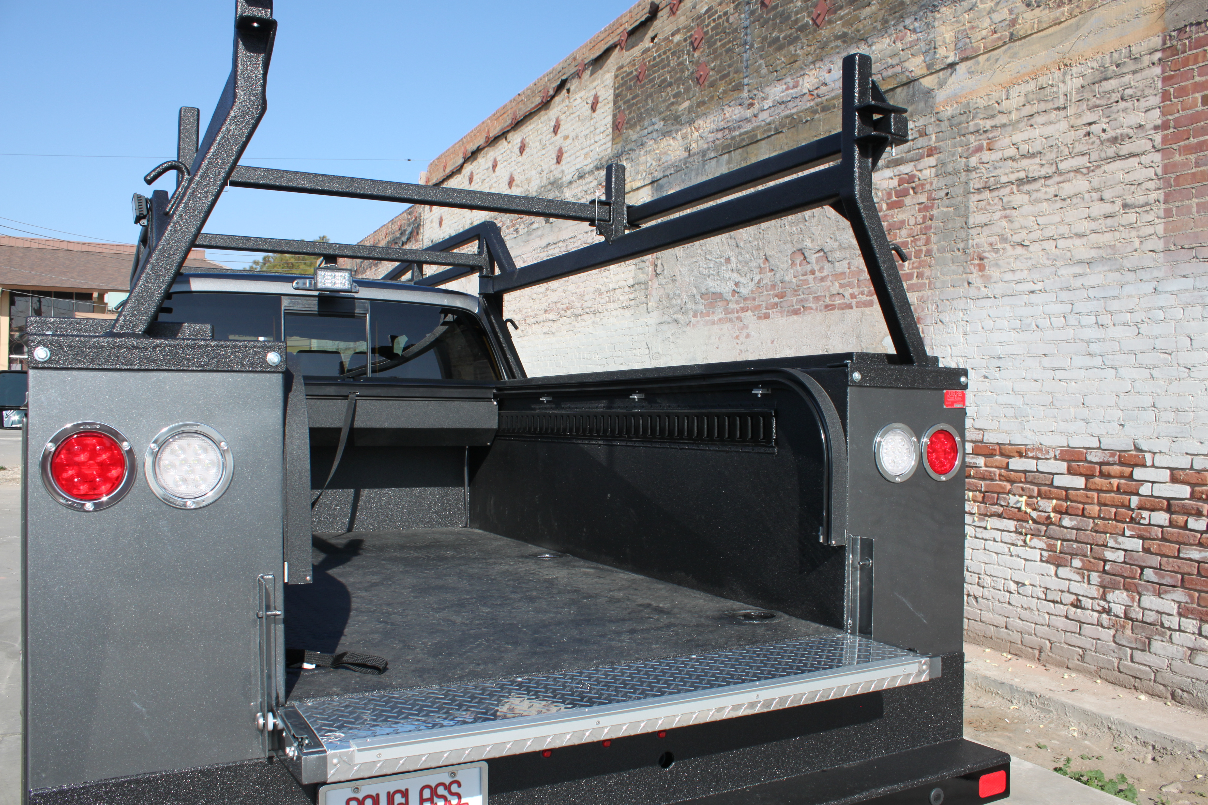 ladder cover van tonneau gamma crop kit by compat new cap hauler item truck correct rack inc racks